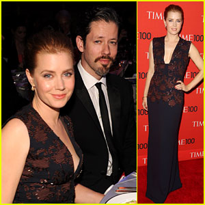 Amy Adams Brings Her Man Darren Le Gallo to Time 100 Gala