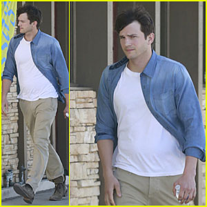 Ashton Kutcher & Mila Kunis Show Chemistry in 'Two and a Half Men' Clips - Watch Now!
