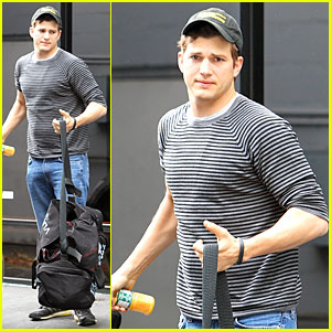 Ashton Kutcher Pushes His Body to the Limit with Jiu Jitsu!