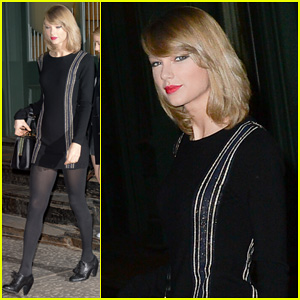 Taylor Swift Steps Out for Ingrid Michaelson Concert in Brooklyn!