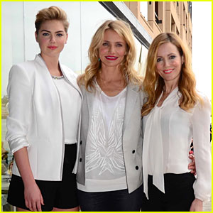 Cameron Diaz & Kate Upton Go Down Under for 'Other Woman' Photo Call!