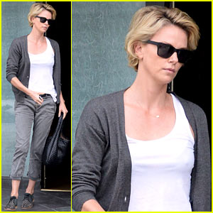 Charlize Theron Emerges After Exciting Sean Penn Movie News!