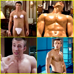 Watch All of Chris Evans' Naked Movie Moments in One Hot Clip!