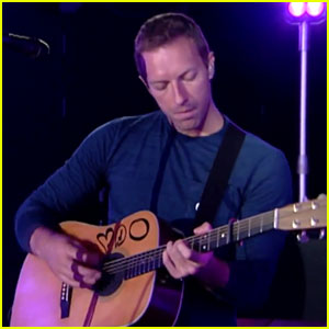Chris Martin & Coldplay Debut New Song 'Oceans' - Watch Now!