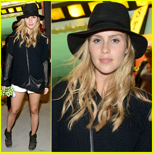 Claire Holt Keeps it 'Original' at Coachella's Neon Carnival