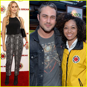 Claire Holt & Taylor Kinney Vamp Up City Year Los Angeles Event