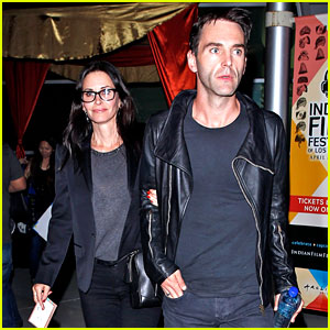 Courteney Cox's Boyfriend Johnny McDaid Leads the Way After Film Festival Date!