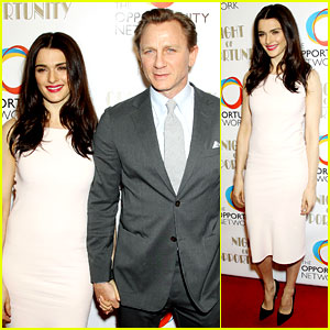 Daniel Craig & Rachel Weisz Make It a 'Night of Opportu