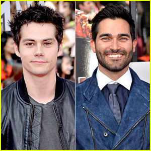 Dylan O'Brien & Tyler Hoechlin: 'Teen Wolf' Studs at MTV Movie Awards 2014!