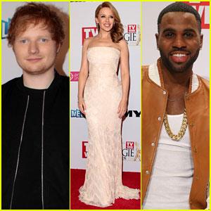Ed Sheeran & Jason Derulo Travel Down Under for Logie Awards 2014