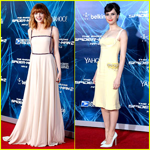 Emma Stone & Felicity Jones Bring Girl Power to 'Amazing Spider-Man 2' Premiere!