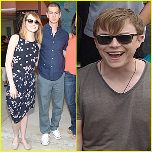 Emma Stone Publicly Questions Boyfriend Andrew Garfield's Views on Femininity - Watch Now!