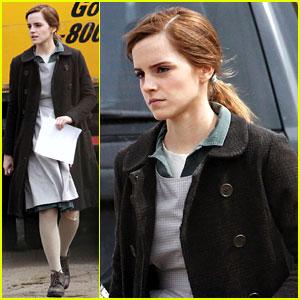 Emma Watson Celebrates 24th Birthday on 'Regression' Set - See the Photos!