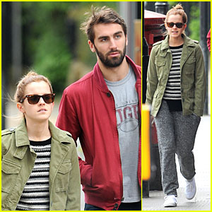 Emma Watson Makes Matthew Janney Feel At Home in London!