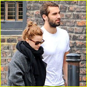 Emma Watson Spends the Weekend with Boyfriend Matthew Janney