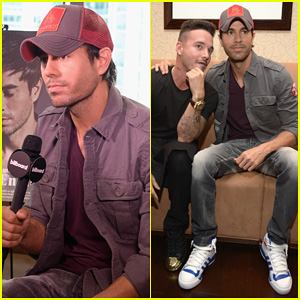 Enrique Iglesias Announces Fall Tour with Pitbull & J Balvin at Billboard Event!