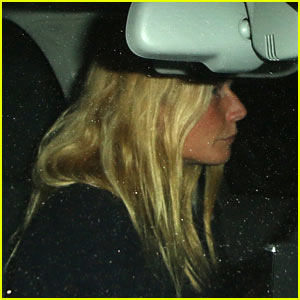Gwyneth Paltrow Drives Off Post Split with Chris Martin