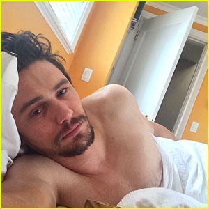 James Franco Shares Intimate Selfies