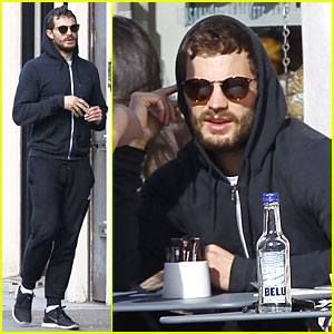 Jamie Dornan & Wife Amelia Start Good Friday Right with Breakfast!
