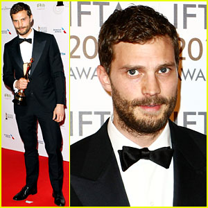 Jamie Dornan Wins TWO Awards at IFTA Awards in Ireland!