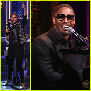 Jamie Foxx Sings Hilarious Unsexy Words Song on 'Tonight Show' - Watch Now!