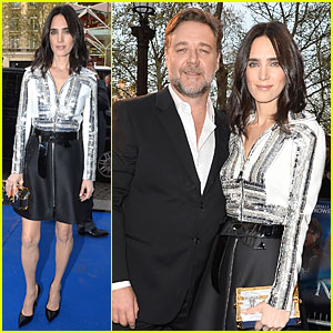 Jennifer Connelly Stuns in Flashy Dress at 'Noah' Paris Premiere!