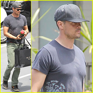 Josh Duhamel Talks Catching the Volunteer Bug at a Young Age!