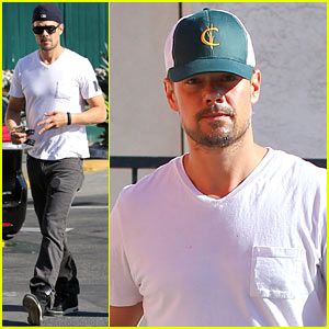Josh Duhamel Sometimes Gets Mistaken for Timothy Olyphant & Johnny Knoxville!