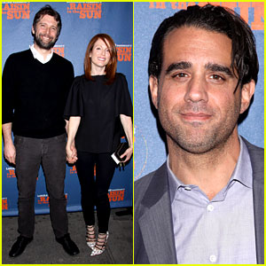 Julianne Moore & Husband Bart Freundlich Have a Broadway Date Night!