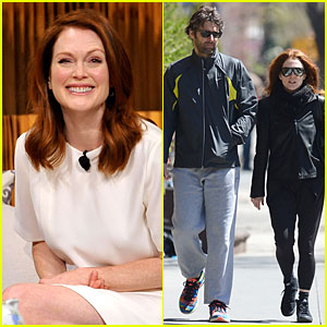 Julianne Moore Tells Us to Thrive on Life Experiences!