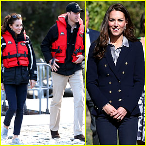 Kate Middleton & Prince William Continue Busy Sunday with Speed Boat Ride!