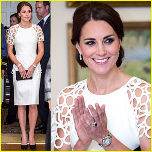 Kate Middleton Wraps Up Royal Tour in One of Her Loveliest Looks Yet!