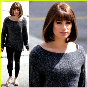 Lea Michele Can Make Any Hairstyle Work, Rocks a Short Wig