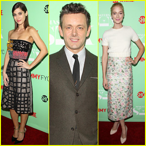 Lizzy Caplan & Michael Sheen Reunite with 'Masters Of Sex' Cast at Special Screening!