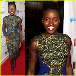 Lupita Nyong'o Attends Her First Awards Show Since the Oscars!