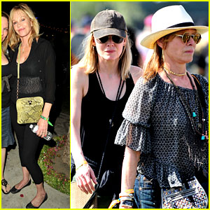 Michelle Pfeiffer & Melanie Griffith Prove Moms Can Have Fun at Coachella Too!