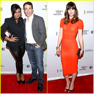 Mindy Kaling Supports Chris Messina at 'Alex of Venice' Tribeca Premiere!