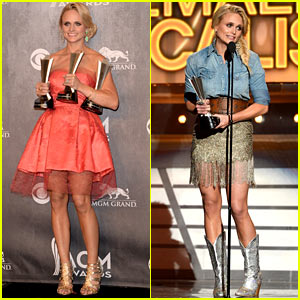 Miranda Lambert Changes Dresses to Celebrate Three Wins at ACM Awards 2014!