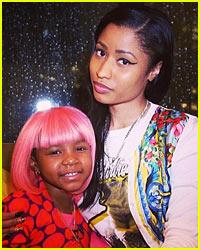 Nicki Minaj Makes Five-Year-Old Cancer Patient's Dream Come True