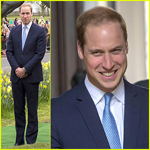 Prince William Is Dashing at Windsor Greys Statue Unveiling!