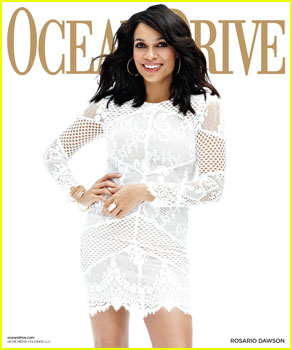 Rosario Dawson Talks Starting a Family in 'Ocean Drive' Magazine!