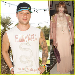 Ryan Phillippe Serves Us with a Gun Show at Coachella!