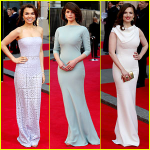 Samantha Barks & Gemma Arterton Glam Up the Olivier Awards 2014 Red Carpet!