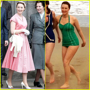 Saoirse Ronan's Fifties Costumes for 'Brooklyn' Are the Definition of Vintage Chic!