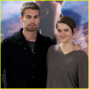 Shailene Woodley & Theo James Explain That 'Divergent' &  'Hunger Games' Are Incomparable
