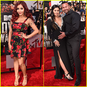 Snooki & JWoww: Pregnant Pals at MTV Movie Awards 2014!