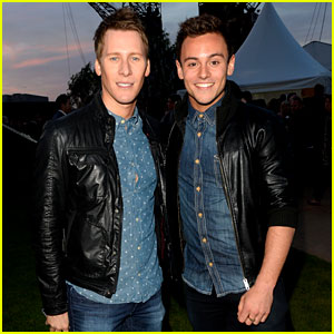 Tom Daley & Dustin Lance Black Attend First Event as a Couple!