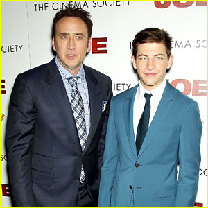 Teen Actor Tye Sheridan Compares Working with Brad Pitt, Matthew McConaughey, & Nicolas Cage!