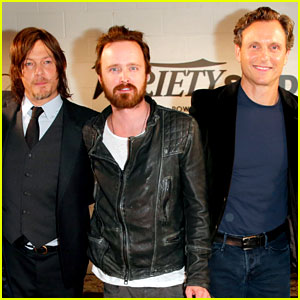 Aaron Paul & Norman Reedus Join TV's Supporting Dramatic Actors for a Variety Studio Panel!