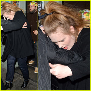 Adele & Partner Simon Konecki Make Rare Public Appearance on Her 26th Birthday!